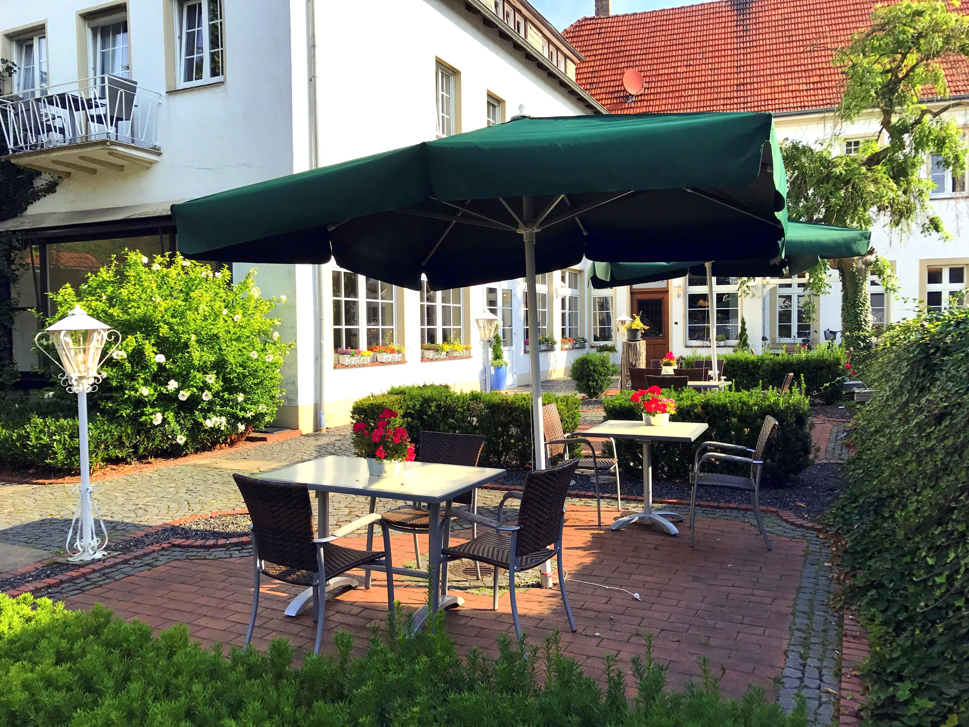 Hotel Riesenbeck sun-terrace
