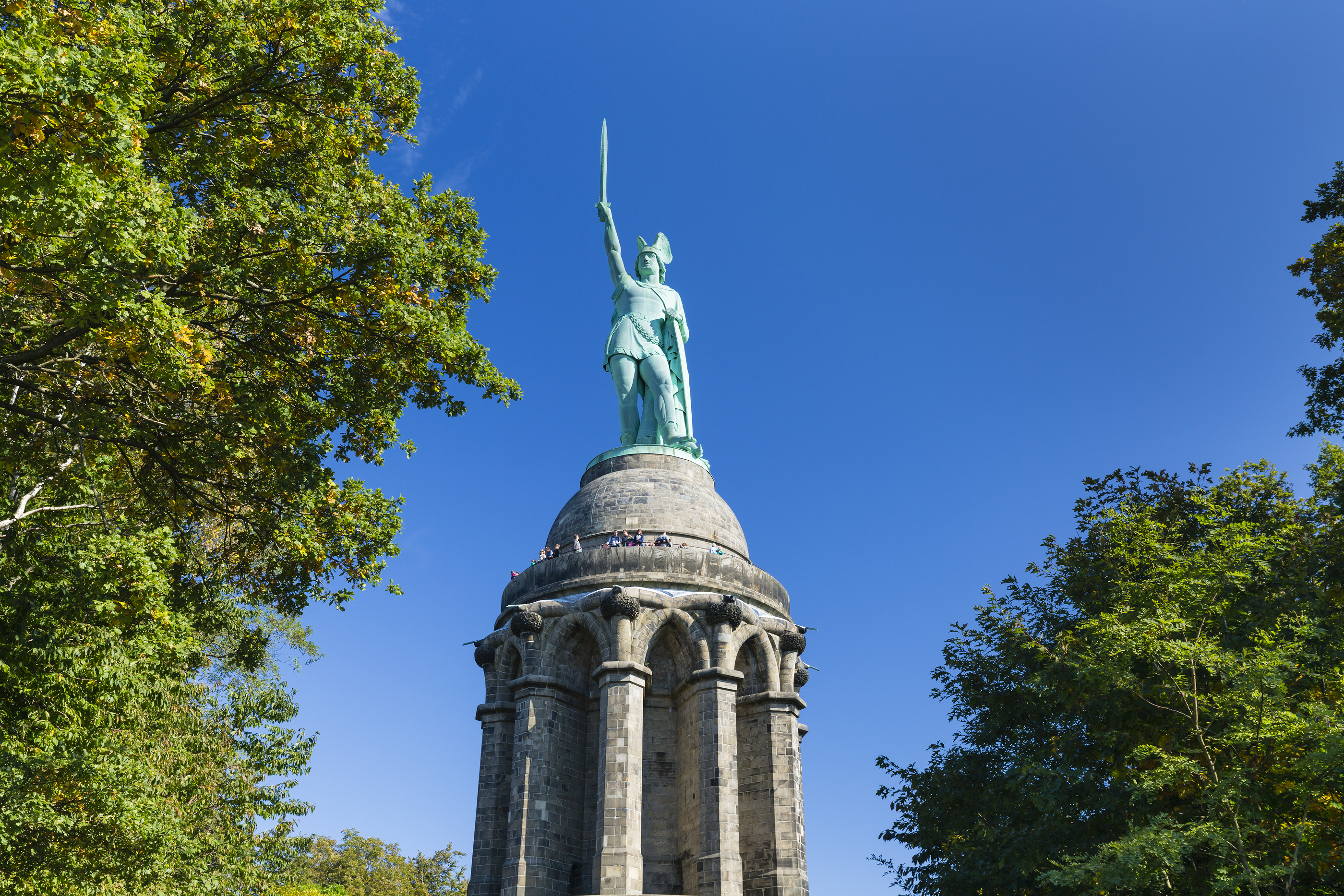 Hermannsdenkmal In Detmold, Germany
