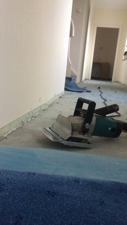 Teppich entfernen Hotel Riesenbeck