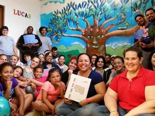 Brigada de Amor Impacta a Lugar de Encuentro para la Juventud