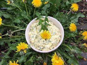 Egg Salad with Spring Herbs & Rice
