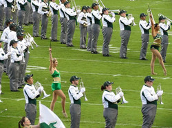 CollegeMarching Jeanette Margle