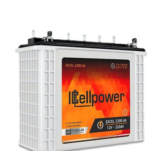 Icellpower Tubular  Battery 12v/220Ah