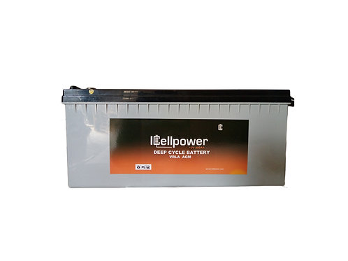AGM 12v/200ah Battery - ICELLPOWER