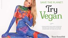 Save The Earth, Go Vegan.