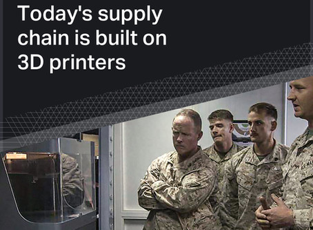 US Military Overcomes Supply Chain Risks with 3D Printing