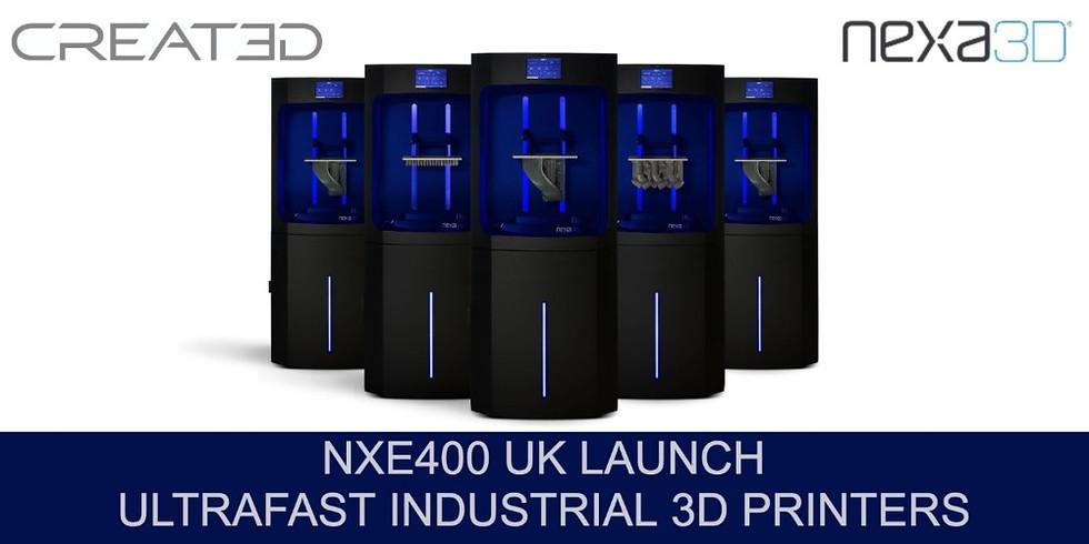 Nexa3D NXE400 UK Launch