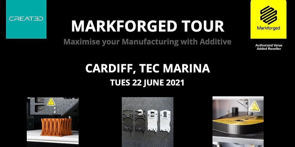Markforged Tour - Cardiff