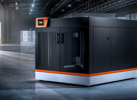 LARGE FORMAT 3D PRINTING DEMO