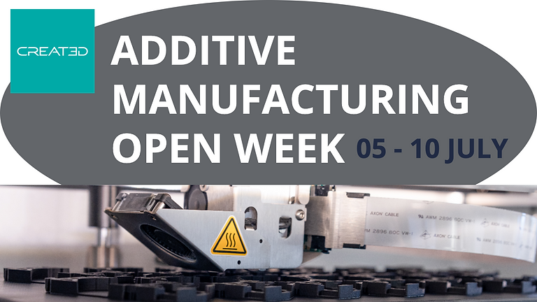 Additive Open Week July (5th-10th)