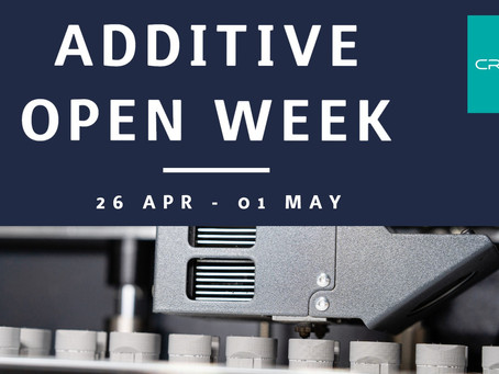 ADDITIVE OPEN WEEK