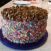 Sprinkle Birthday Cake by Sweetcakes..(9