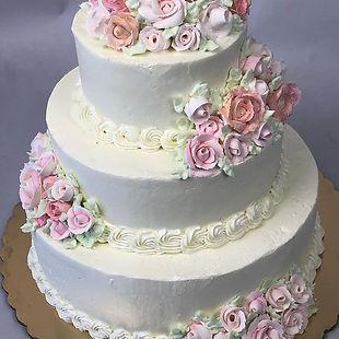 Garden weddings by Sweetcakes.  Www.sweetcakes418.com.jpg