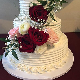 Today's wedding cake delivery!  _the_grove_redlands  Www.sweetcakes418.com.  951-267-0038.