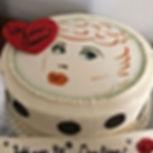 Lucy inspired cake!  Happy Birthday Jess