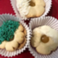 New!  Lemon drop cookies!  Dipped in whi