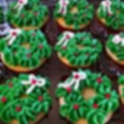 Sweetcakes Wreath Cupcakes. $2.25 each.