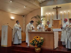 Frère Marie Paul NICOLAS est ordonné prêtre et frère Marie Syméon GARCIA a pris l'habit mariavite