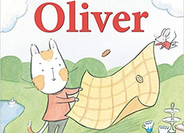 Picnic with Oliver - Perfect Picture Book Friday #PPBF