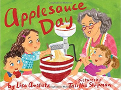 Applesauce Day - Perfect Picture Book Friday #PPBF Plus a Giveaway