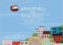 Adventures to School - Perfect Picture Book Friday #PPBF