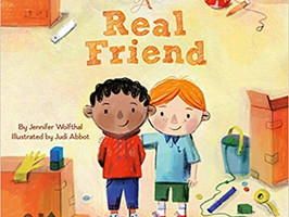 A Real Friend - Perfect Picture Book Friday #PPBF