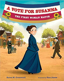 A Vote For Susanna - The Perfect Picture Book Friday #PPBF