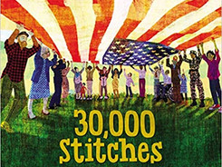30,000 Stitches: The Inspiring Story of the National 9/11 Flag - Perfect Picture Book Friday #PPBF