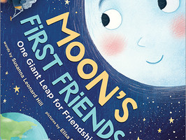 Moon's First Friends: One Giant Leap for Friendship - Perfect Picture Book Friday #PPBF
