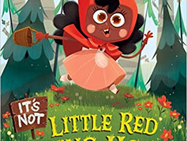 It's NOT Little Red Riding Hood and Where's Our Library - Perfect Picture Book Friday #PPBF
