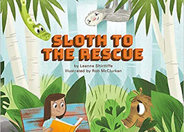 Sloth to the Rescue - Perfect Picture Book Friday #PPBF