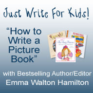 Just Write For Kids course badge