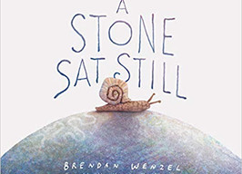 A Stone Sat Still - Perfect Picture Book Friday #PPBF