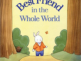 Best Friend in the Whole Wide World - Perfect Picture Book Friday #PPBF and Original Sketch Giveaway