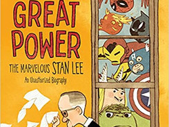 With Great Power: The Marvelous Stan Lee - Perfect Picture Book Friday #PPBF
