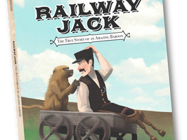 Railway Jack: The True Story of An Amazing Baboon - Perfect Picture Book Friday #PPBF