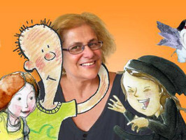 The Picture Book Buzz - Interview with Susanne Gervay and Review of The Boy in the Big Blue Glasses