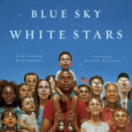 Blue Sky White Stars - Perfect Picture Book Friday #PPBF