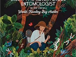 Evelyn the Adventurous Entomologist - Perfect Picture Book Friday #PPBF