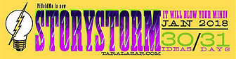 StoryStorm yearly January Challenge badge