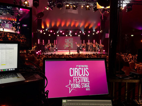 VIDEOTECHNIK | circus young stage