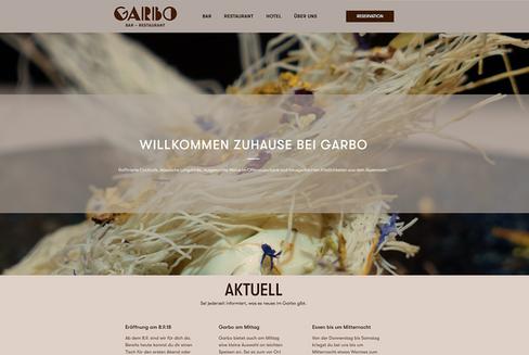 WEB | restaurant & bar garbo