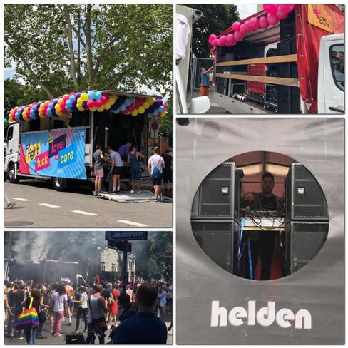 AUDIO | parade trucks pride 2019