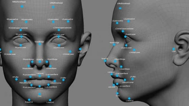 Image - 80 points of Facial Recognition