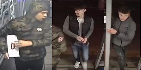 Suspects wanted Spar Lindford Hampshire