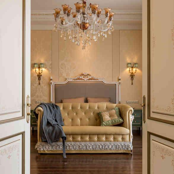 Спальня в частных апартаментах