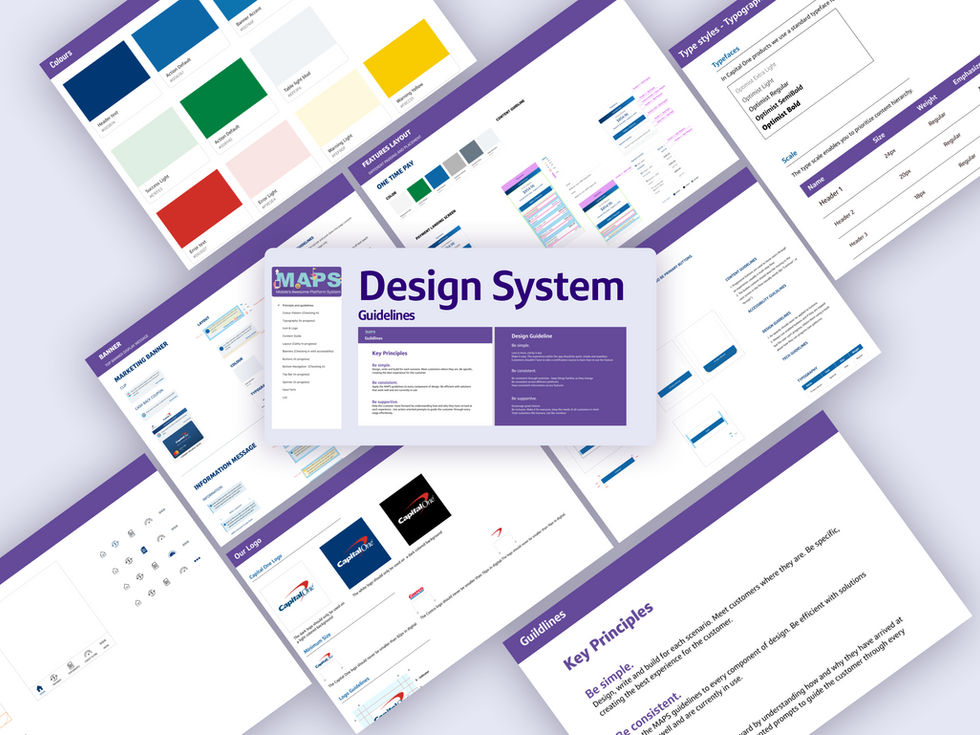 Building a mobile design system from the scratch