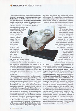 Revista Cima. Abril 2013