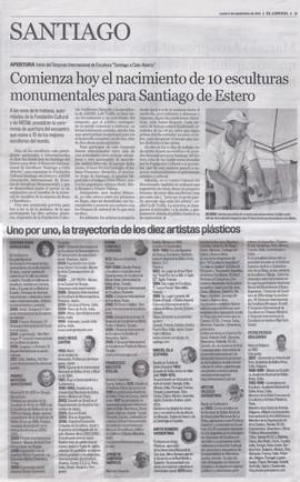 Simposio Santiago del Estero, 2011
