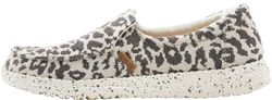Misty Woven Cheetah Grey